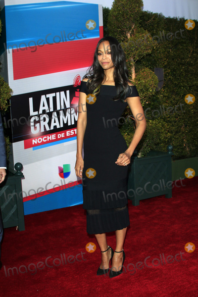 Zoe Saldana Photo - LAS VEGAS - NOV 19  Zoe Saldana at the 16th Latin GRAMMY Awards at the MGM Grand Garden Arena on November 19 2015 in Las Vegas NV