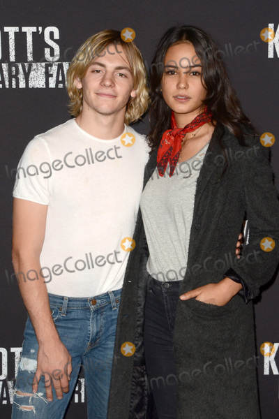 Ross Lynch Photo - LOS ANGELES - SEP 30  Ross Lynch Courtney Eaton at the 2016 Knotts Scary Farm at Knotts Berry Farm on September 30 2016 in Buena Park CA