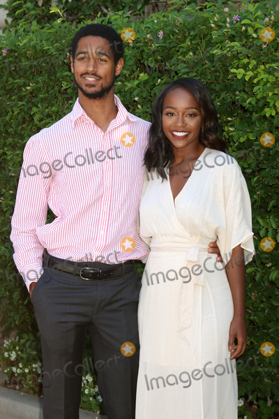 Alfred Enoch Photo - LOS ANGELES - SEP 25  Alfred Enoch Aja Naomi King at the The Rape Foundations Annual Brunch at the Private Residence on September 25 2016 in Beverly Hills CA