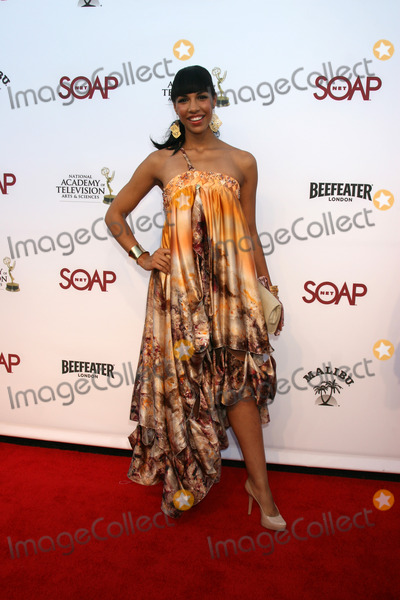 Amanda Brugel Photo - Amanda  Brugel arriving at the SoapNet Night Before Party for the nominees of the 2008 Daytime Emmy Awards at Crimson  Opera in Hollywood CAJune 19 2008