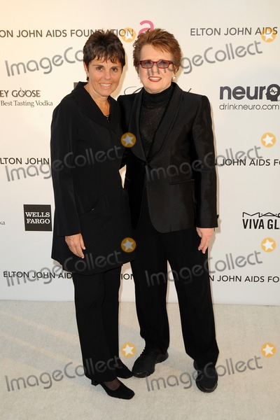 Billy Jean King Photo - LOS ANGELES - FEB 24  Billie Jean King arrives at the Elton John Aids Foundation 21st Academy Awards Viewing Party at the West Hollywood Park on February 24 2013 in West Hollywood CA