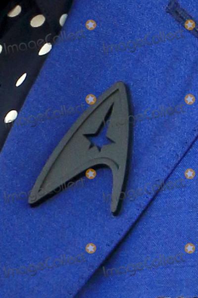 Anton Yelchin Photo - LOS ANGELES - JUL 20  Zachary Quintos Black Starfleet delta badge worn in tribute to Anton Yelchin at the Star Trek Beyond World Premiere at the Embarcadero Marina on July 20 2016 in San Diego CA