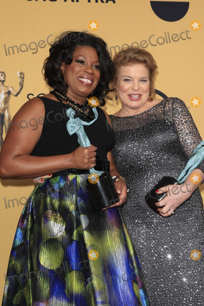 Annie Golden Photo - LOS ANGELES - JAN 25  Lorraine Toussant Annie Golden at the 2015 Screen Actor Guild Awards at the Shrine Auditorium on January 25 2015 in Los Angeles CA