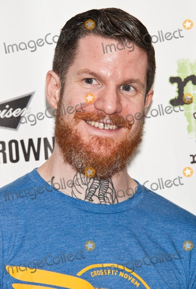 Andy Hurley Photo - BALA CYNWYD PA - JUNE 27 Andy Hurley of American Alternative Rock Band Fall Out Boy Poses at Radio 1045s Performance Theatre on June 27 2014 in Bala Cynwyd Pennsylvania (Photo by Paul J FroggattFamousPix)