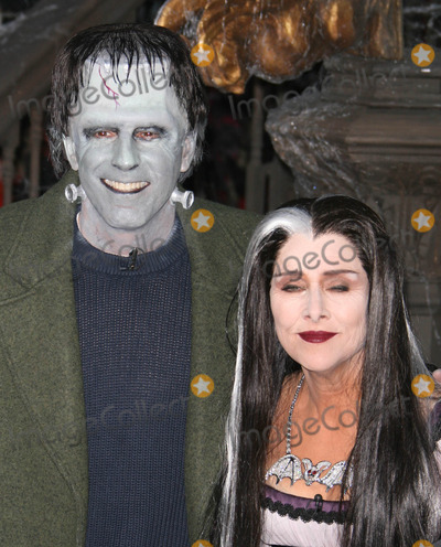 Natalie Morales Photo - New York New York 10-31-07Meredith Vieira as Lilly Munster Al Rokeras Grandpa Munster Matt Lauer as Herman Munster Natalie Morales as Eddie Munster Tiki Barber as Spot Munster for Halloween on the Today ShowDigital photo by Endico Canavero-PHOTOlinknet