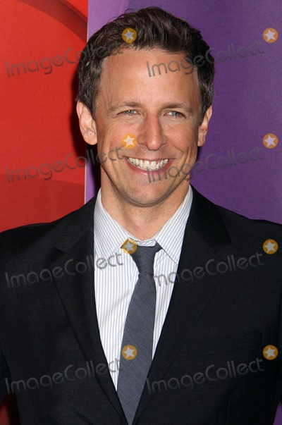 Seth Meyers Photo - 13th May 2013  The 2013-2014 NBC Upfront Presentation Red Carpet Event held at Radio City Music Hall New York City USAHere Seth MeyersKGC-146starmaxinccom