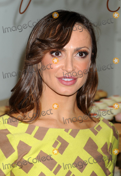 Karina Smirnoff Photo - Photo by Dennis Van Tinestarmaxinccom2013ALL RIGHTS RESERVEDTelephoneFax (212) 995-119671613Karina Smirnoff at a promotional event for Forever Tango Sprinkles Cupcake(NYC)
