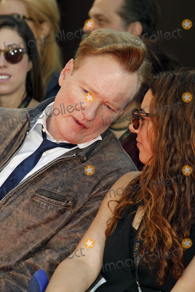 Conan OBrien Photo - Photo by REWestcomstarmaxinccomSTAR MAX2015ALL RIGHTS RESERVEDTelephoneFax (212) 995-1196103115Conan OBrien at a hand and footprint ceremony at TCL Chinese Theatre(Hollywood CA)