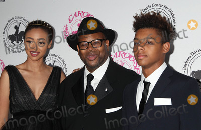 Bella Harris Photo - Photo by REWestcomstarmaxinccomSTAR MAX2016ALL RIGHTS RESERVEDTelephoneFax (212) 995-119610816Bella Harris Jimmy Jam and Max Harris at The 2016 Carousel of Hope Ball(Los Angeles CA)