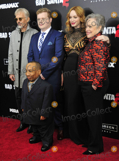 Brett Kelly Photo - Photo by Patricia SchleinstarmaxinccomSTAR MAX2016ALL RIGHTS RESERVEDTelephoneFax (212) 995-1196111516Billy Bob Thornton Brett Kelly Tony Cox Christina Hendricks and Kathy Bates at the premiere of Bad Santa 2(NYC)