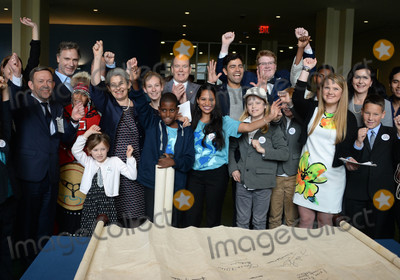 Prince Photo - Photo by Dennis Van TinestarmaxinccomSTAR MAX2017ALL RIGHTS RESERVEDTelephoneFax (212) 995-11966917UN Ocean Conference in New York UNHQ Prince Albert II and Adrian Grenier sign ocean pledge with children from around the world in New York City