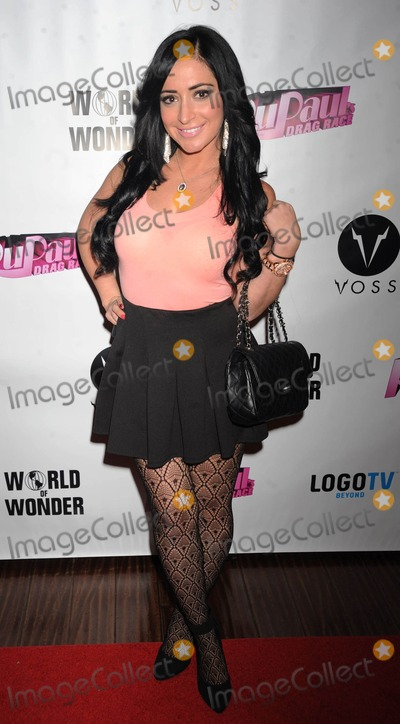 Angelina Pivarnick Photo - Photo by Demis Maryannakisstarmaxinccom2014ALL RIGHTS RESERVEDTelephoneFax (212) 995-119621914Angelina Pivarnick at Drag Race Season 6 Premiere at Stage 48(NYC)