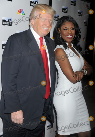 Omarosa Photo - Photo by Dennis Van Tinestarmaxinccom2013ALL RIGHTS RESERVEDTelephoneFax (212) 995-11964113Donald Trump and Omarosa Marigault at The All-Star Celebrity Apprentice Event(NYC)