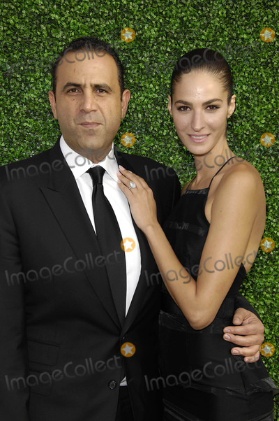 Sam Nazarian Photo - Photo by Michael GermanastarmaxinccomSTAR MAX2015ALL RIGHTS RESERVEDTelephoneFax (212) 995-11965515Sam Nazarian and Emina Cunmulaj at The UCLA Younes  Soraya Nazarian Center For Israel Studies Fifth Annual Gala(NYC)
