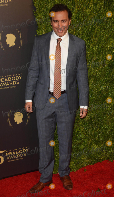 Aasif Mandvi Photo - Photo by Patricia SchleinstarmaxinccomSTAR MAX2016ALL RIGHTS RESERVEDTelephoneFax (212) 995-119652116Aasif Mandvi at The 75th Annual Peabody Awards(NYC)