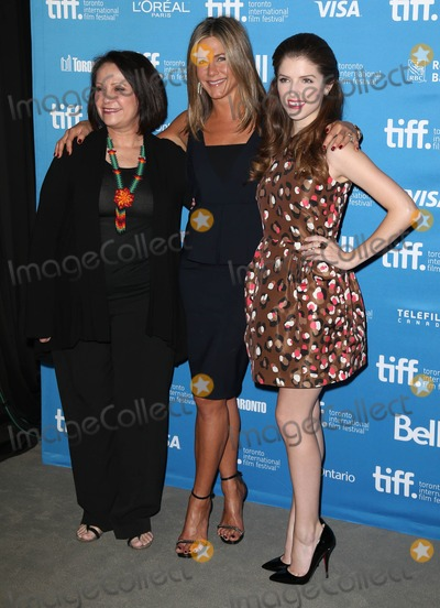 Adriana Barraza Photo - Photo by KGC-146starmaxinccomSTAR MAX2014ALL RIGHTS RESERVEDTelephoneFax (212) 995-11969914Adriana Barraza Jennifer Aniston and Anna Kendrick at the press conference and photocall for Cake during the Toronto International Film Festival(Toronto Canada)