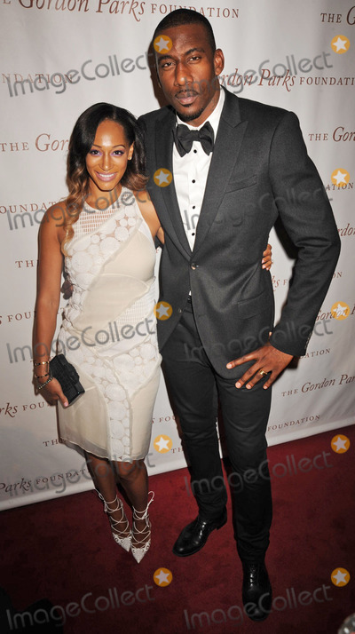 Amare Stoudemire Photo - Photo by Demis MaryanakisSTAR MAX6314Alexis Stoudemire and Amare Stoudemire at The 2014 Gordon Parks Foundation Awards Dinner(NYC)