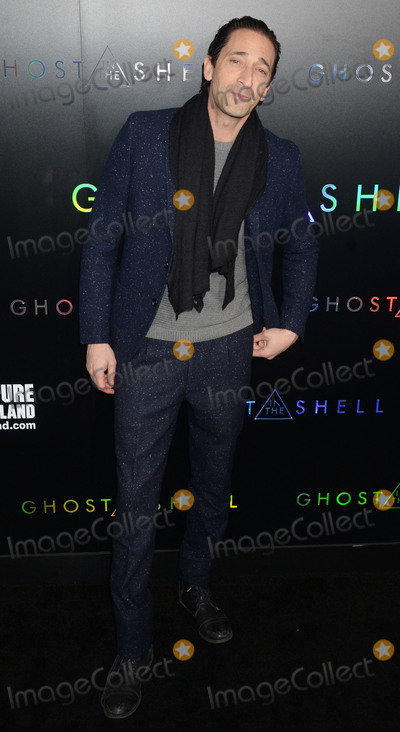 Adrien Brody Photo - Photo by Dennis Van TinestarmaxinccomSTAR MAXCopyright 2017ALL RIGHTS RESERVEDTelephoneFax (212) 995-119632917Adrien Brody at the premiere of Ghost In The Shell(NYC)