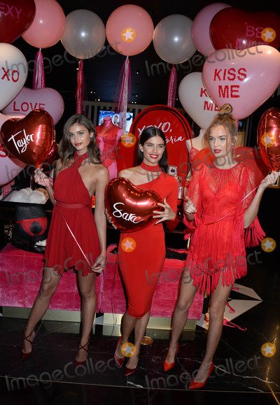 Victorias Secret Photo - Photo by Dennis Van TinestarmaxinccomSTAR MAX2017ALL RIGHTS RESERVEDTelephoneFax (212) 995-11962717Taylor Hill Sara Sampaio and Josephine Skriver at The Victorias Secret Hottest Gift Picks for Valentines Day Event(NYC)