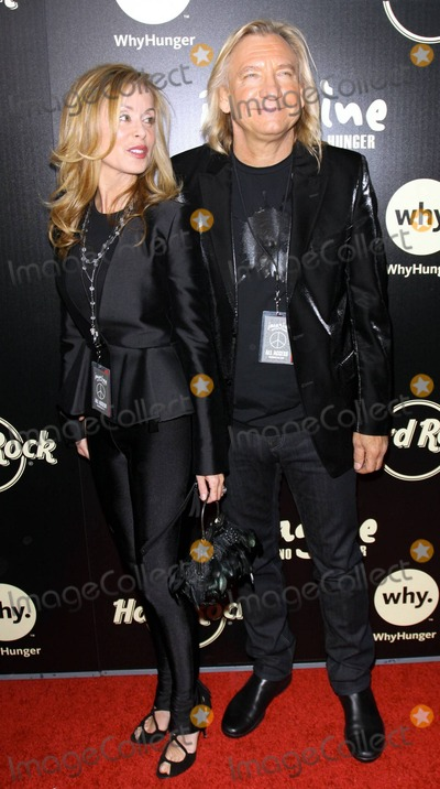 THE ROCK Picture - Joe Walsh (R) with wife Marjorie Bach attending ...