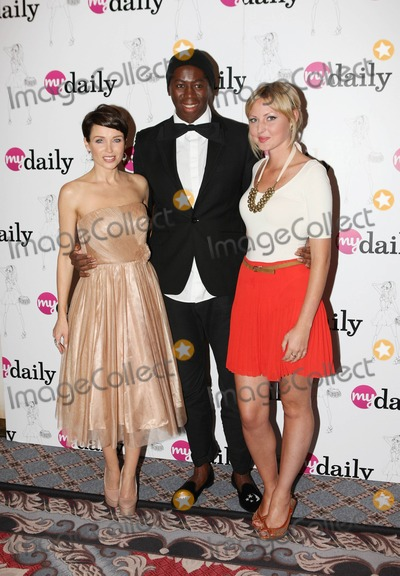 Dannii Minogue Photo - Dannii Minogue Jay Alexander and Coppafeel founder Kris Halenga attend the MyDailycouk Amazing Women Daily Campaign Celebration at The Savoy Hotel London UK 22nd September 2011