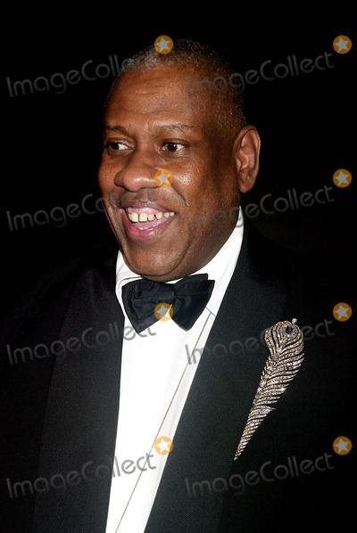 Andre Talley Photo - Andre Leon Talley at Bravehearts Men in Skirts Opening Reception in the Costume Institute of the Metropolitian Museum of Art in New York City on November 3 2003 Photo Henry McgeeGlobe Photos Inc 2003
