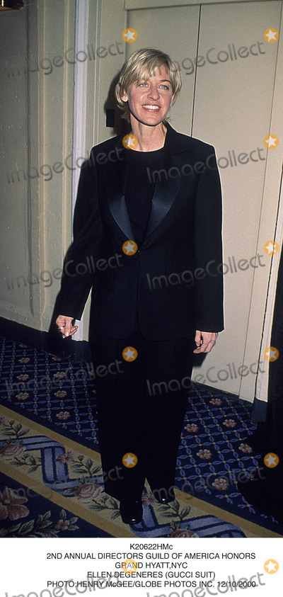 Ellen Degeneres Photo - 2nd Annual Directors Guild of America Honors Grand Hyattnyc Ellen Degeneres (Gucci Suit) Photohenry McgeeGlobe Photos Inc 1210