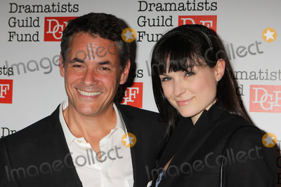 Adam Guettel Photo - Adam Guettel and Haley Bond Peterson Arriving at the Dramatists Guild Funds 50th Anniversary Gala at the Mandarin Oriental New York in New York City on 06-03-2012 Photo by Henry Mcgee-Globe Photos Inc 2012