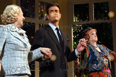 Jayne Atkinson Photo - Jayne Atkinson Rupert Everett and Angela Lansbury Curtain Call on Opening Night of Noel Cowards Blithe Spirit at the Shubert Theatre in New York City on 03-15-2009 Photo by Henry McgeeGlobe Photos Inc 2009