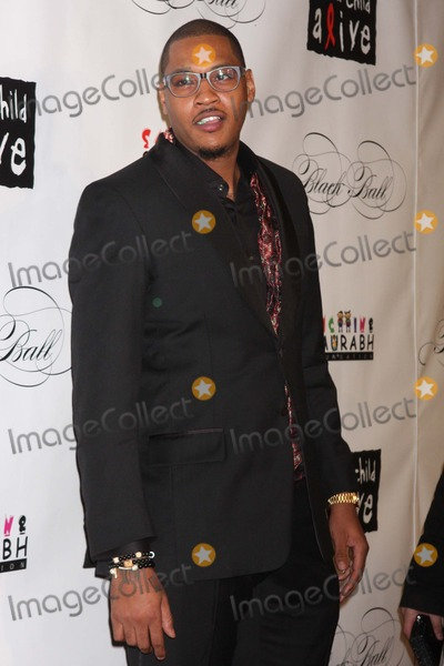Carmelo Anthony Photo - Carmelo Anthony Arriving at Keep a Child Alives Black Ball at the Hammerstein Ballroom in New York City on 11-03-2011 Photo by Henry Mcgee-Globe Photos Inc 2011