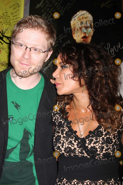 Anthony Rapp Photo - NYC  090708Anthony Rapp and Daphne Rubin Vega at the final performance of the Broadway musical RENT at the Nederlander Theatre after 5124 performancesDigital Photo by Adam Nemser-PHOTOlinknet