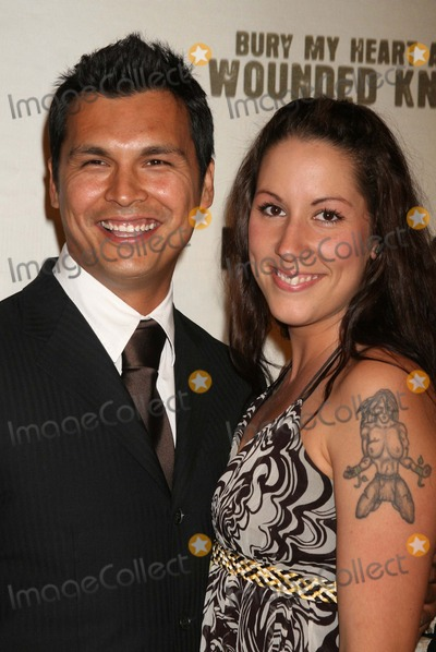 Adam Beach Photo - Adam_Beach_wife5451JPGNYC  052307Adam Beach and wife Tara premiere of his new movie BURY MY HEART AT WOUNDED KNEE at the American Museum of Natural HistoryDigital Photo by Adam Nemser-PHOTOlinknet
