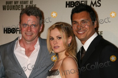 Adam Beach Photo - NYC  052307Aidan Quinn Anna Paquin (with blonde hair) and Adam Beachpremiere of their new movie BURY MY HEART AT WOUNDED KNEE at the American Museum of Natural HistoryDigital Photo by Adam Nemser-PHOTOlinknet