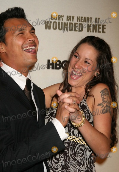 Adam Beach Photo - Adam_Beach_wife5459JPGNYC  052307Adam Beach and wife Tara premiere of his new movie BURY MY HEART AT WOUNDED KNEE at the American Museum of Natural HistoryDigital Photo by Adam Nemser-PHOTOlinknet