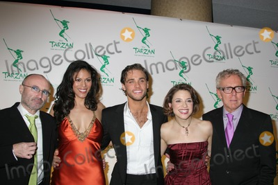 Phil Collins Photo - NYC  051006Phil Collins Merle Dandridge Josh Strickland (Tarzan) Jenn Gambatese (Jane) and Bob Crowley at the opening night party for the new Broadway musical TARZAN presented by Disney at the Marriott MarquisDigital Photo by Adam Nemser-PHOTOlinknet