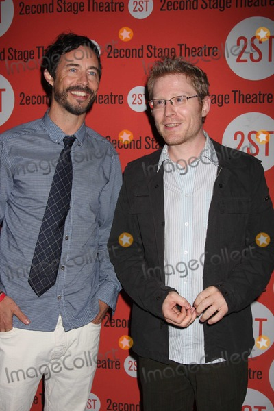 Anthony Rapp Photo - NYC  081210Tom Cavanagh and Anthony Rapp at opening night of the new play Trust Off-Broadway at Second Stage TheatrePhoto by Adam Nemser-PHOTOlinknet