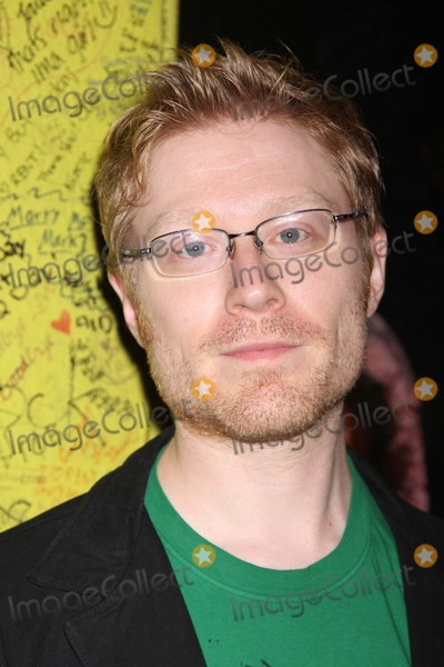 Anthony Rapp Photo - NYC  090708Anthony Rapp at the final performance of the Broadway musical RENT at the Nederlander Theatre after 5124 performancesDigital Photo by Adam Nemser-PHOTOlinknet