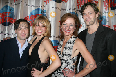 Ari Graynor Photo - NYC  111306Cast members Johnny Galecki Ari Graynor Julie White and Tom Everett Scott at the opening night party for the new Broadway comedy THE LITTLE DOG LAUGHED at Planet HollywoodDigital Photo by Adam Nemser-PHOTOlinknet