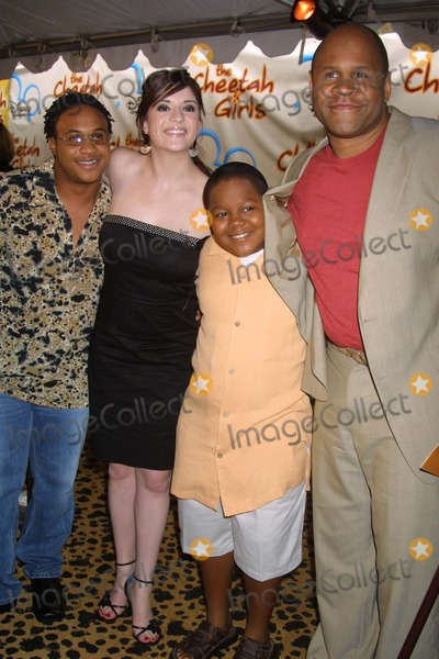 CHEETAHS GIRLS Photo - NYC  080503Orlando Brown Anneliese van der Pol Kyle Orlando Massey and Rondell Sheridan (cast of THATS SO RAVEN) at the premiere of the new Disney Channel Original Movie THE CHEETAH GIRLS at LaGuardia High SchoolDigital Photo by Adam NemserPHOTOlink