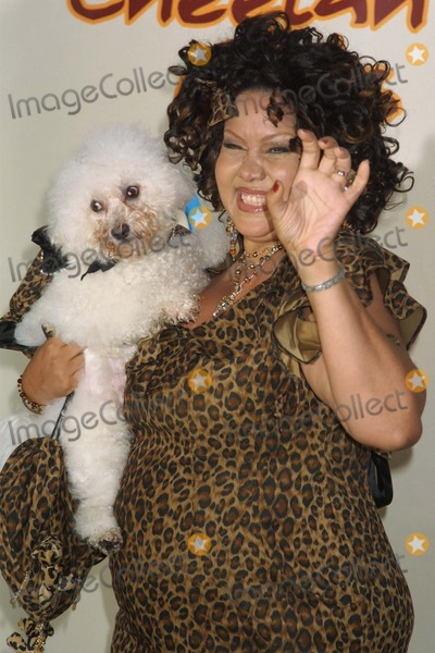 CHEETAHS GIRLS Photo - NYC  080503Author Deborah Gregory and dog Cappuccino at the premiere of the new Disney Channel Original Movie THE CHEETAH GIRLS at LaGuardia High SchoolDigital Photo by Adam NemserPHOTOlink