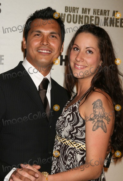 Adam Beach Photo - Adam_Beach_wife5453JPGNYC  052307Adam Beach and wife Tara premiere of his new movie BURY MY HEART AT WOUNDED KNEE at the American Museum of Natural HistoryDigital Photo by Adam Nemser-PHOTOlinknet