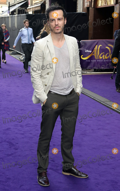 Andrew Scott Photo - June 15 2016 - Andrew Scott attending Disneys Aladdin Musical Press Night at Prince Edward Theatre in London UK