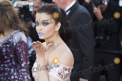 Aishwarya Rai Photo - CANNES FRANCE - MAY 15 Aishwarya Rai attends the From The Land Of The Moon (Mal De Pierres) premiere during the 69th annual Cannes Film Festival at the Palais des Festivals on May 15 2016 in Cannes France(Photo by Laurent KoffelImageCollectcom)