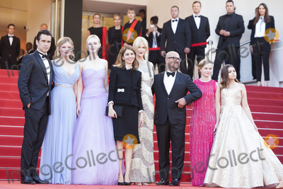 Addison Riecke Photo - CANNES FRANCE - MAY 24 Colin Farrell Kirsten Dunst Elle Fanning Sofia Coppola Nicole Kidman Youree Henley Angousie Rice and Addison Riecke attend the The Beguiled screening during the 70th annual Cannes Film Festival at Palais des Festivals on May 24 2017 in Cannes France(Photo by Laurent KoffelImageCollectcom)