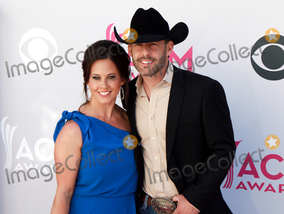 Aaron Watson Photo - LAS VEGAS-APRIL 2  Recording artist Aaron Watson (R) and wife Kimberly attend the 52nd Academy Of Country Music Awards at Toshiba Plaza on April 2 2017 in Las Vegas Nevada  (Photo by AKPhotoImageCollectcom)