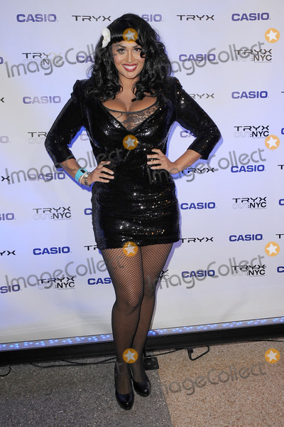 Somaya Reece Photo - Somaya Reece attends the CASIO Launch of Tryx Camera with Performance by Nicki Minaj Best Buy Theatre In Time Square on April 7 2011 in New York City