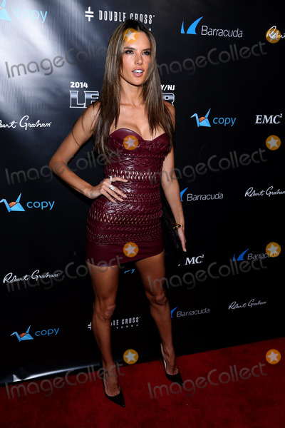 Alesandra Ambrosio Photo - February 1 2014 New York CityVictoria Secret model Alesandra Ambrosio at the 11th Annual Leather  Laces Party at The Liberty Theatre on February 1 2014 in New York City