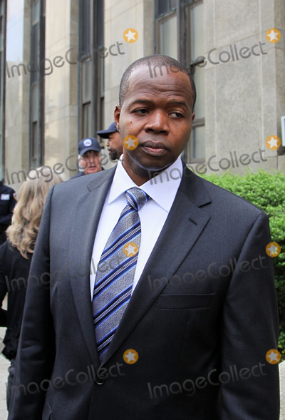 Kenneth Thompson Photo - Attorney Kenneth P Thompson  of Thompson Wigdor LLP who are representing the victim in the sex case against Dominique Strauss-Kahn outside the Manhattan Criminal Court Building on June 6 2011 in New York City
