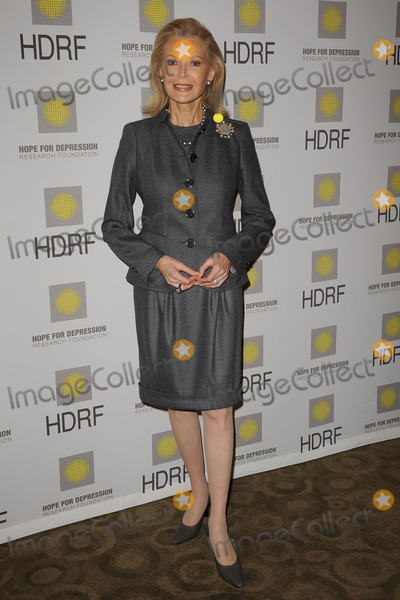 AUDREY GRUSS Photo - HDRF Founder and Chairman Audrey Gruss at the Hope for Depression Research Foundation Seminar at the Time Warner Center on November 16 2009 in New York City