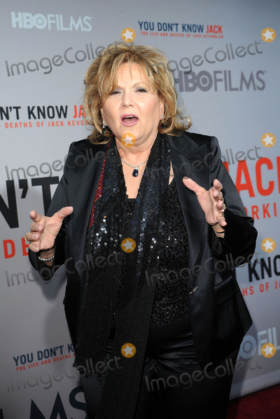 Brenda Vaccaro Photo - Actress Brenda Vaccaro arriving at the HBO Films You Dont Know Jack premiere at Ziegfeld Theatre on April 14 2010 in New York City